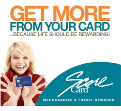 Get more from your card with Score Card merchandise and travel rewards