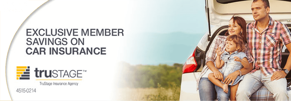 Up to 10% discount. Exclusive member savings on Car Insurance from TruStage